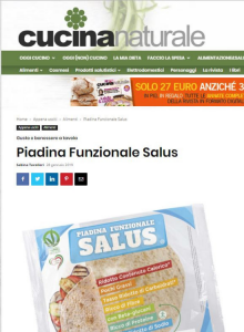 cucina naturale piadina funzionale salus